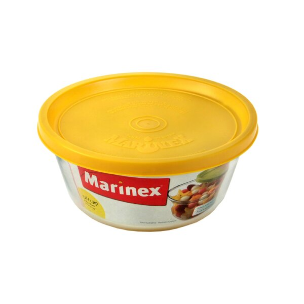 Medium Round 41.6 Oz. Food Storage Container by Marinex