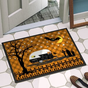Halloween Door Mat