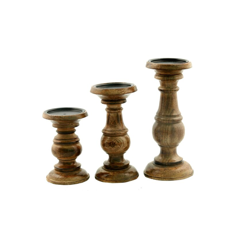 3-Piece Melissa Candleholder Set