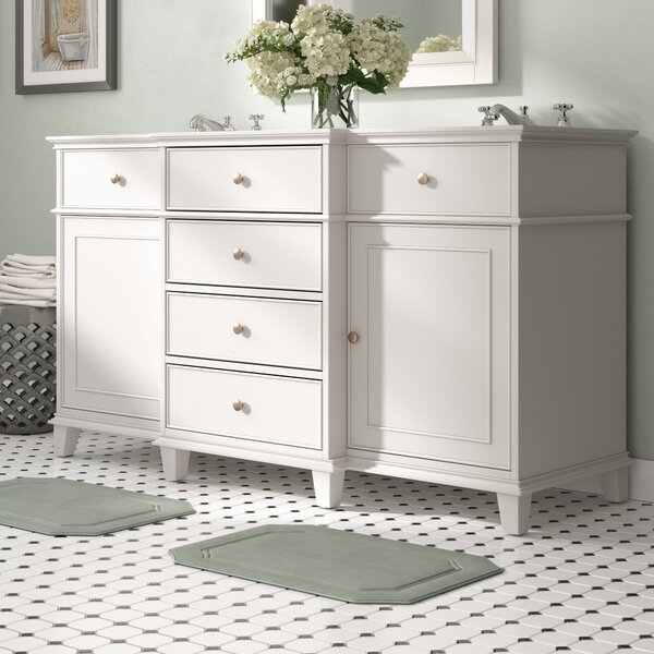 Carreno 60 Double Bathroom Vanity Base Only