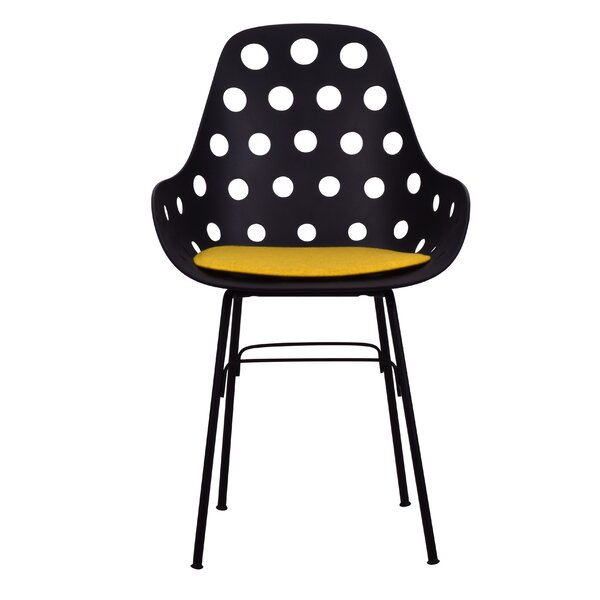 Scholten Upholstered Dining Chair by Wrought Studio
