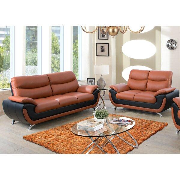 Lakeway 2 Piece Living Room Set by Orren Ellis
