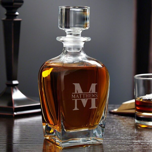 Kaity Personalized Whiskey 24 oz. Decanter by Darby Home Co