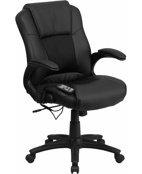 Kruger Massaging Ergonomic Mesh Executive Chair by Symple Stuff