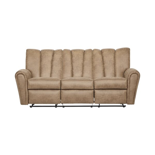 Currahee Upholstery Reclining Sofa by Red Barrel Studio