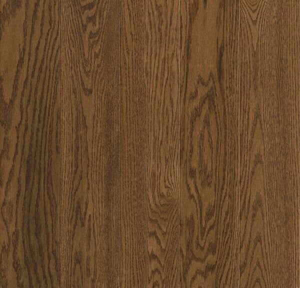 Prime Harvest 5 Solid Oak Hardwood Flooring in High Glossy Forest Brown by Armstrong Flooring