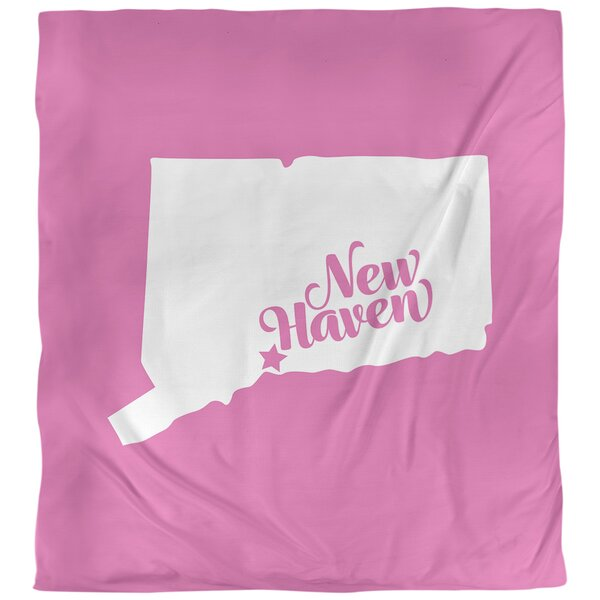 New Haven Connecticut Duvet Cover