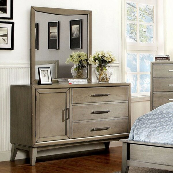 Timaeus Voguish 3 Drawer Combo Dresser by Brayden Studio