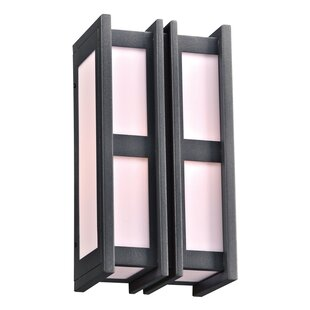 Bargain Loughborough 1-Light Outdoor Flush Mount By Ebern Designs