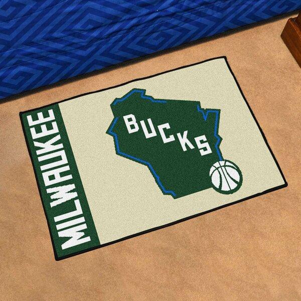 NBA Milwaukee Bucks Starter Mat by FANMATS