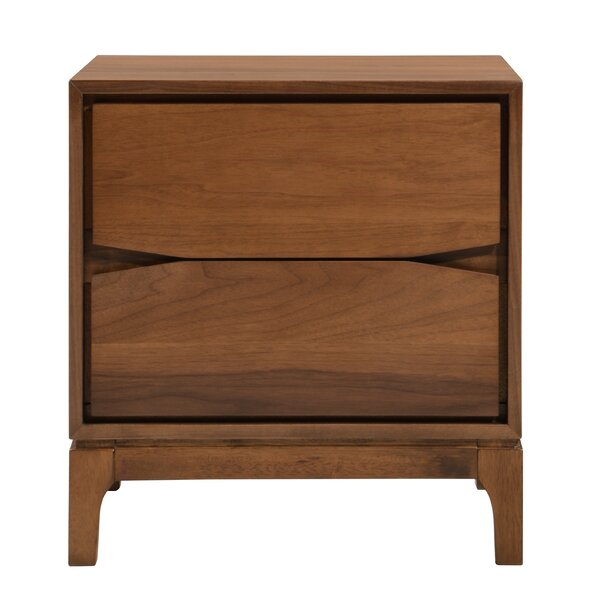 Madge 2 Drawer Nightstand by George Oliver
