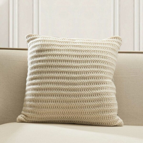 Burleson Knitted Throw Pillow by Highland Dunes