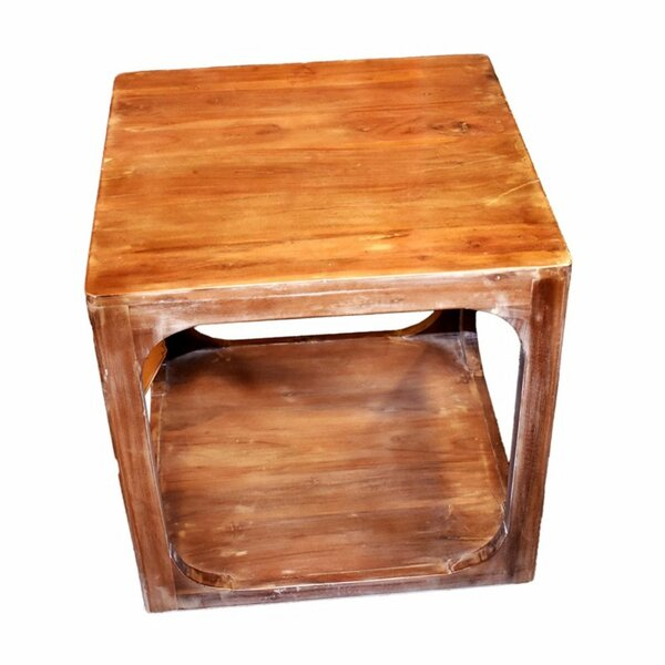 Wootton Wooden Side End Table by Millwood Pines