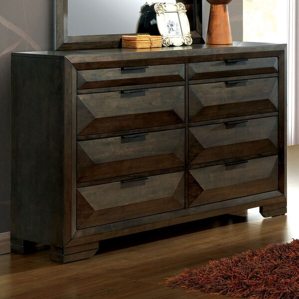 Bender Contemporary 8 Drawer Double Dresser by Union Rustic Union Rustic