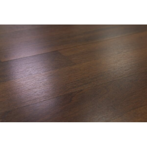 Palermo 7.5 x 47.25 x 8mm Laminate Flooring in Brown by Branton Flooring Collection