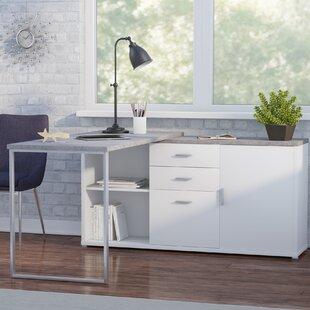 Dariell 3 Drawer L-Shape Corner Desk