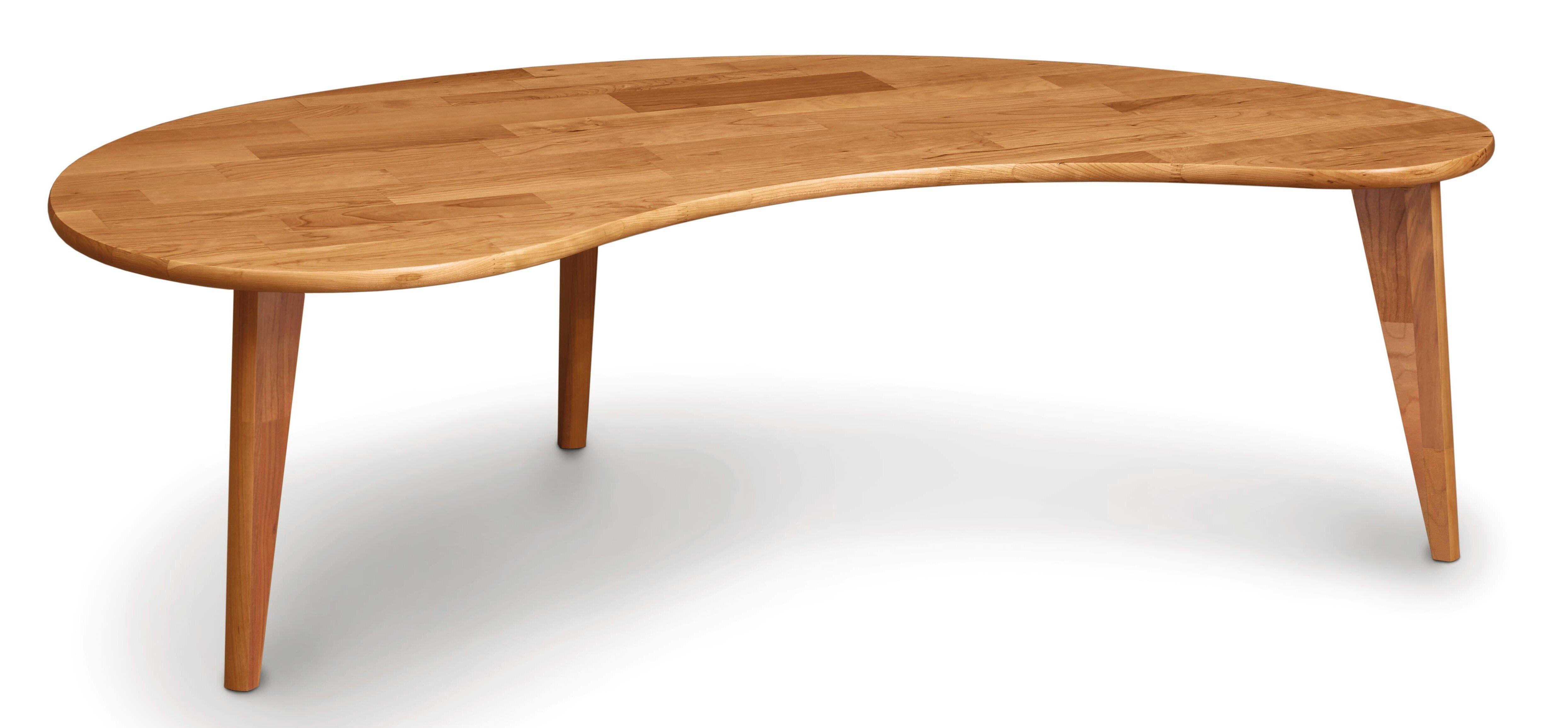 - Copeland Furniture Essentials Kidney Shaped Coffee Table Wayfair