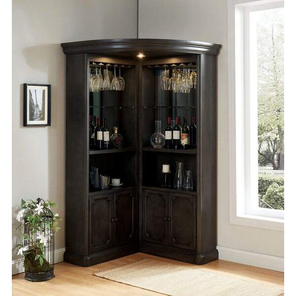 Kanye Curio Cabinet by Darby Home Co Darby Home Co