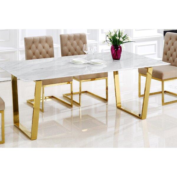 Willa Arlo Interiors Yunus Dining Table & Reviews by Willa Arlo Interiors
