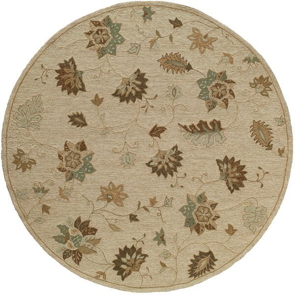 Moten Handmade Sand Area Rug by August Grove