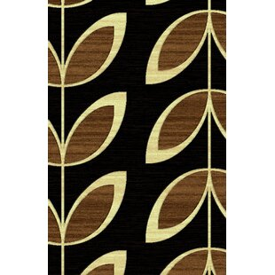 Inexpensive LifeStyle Black Indoor/Outdoor Area Rug By Rug Factory Plus