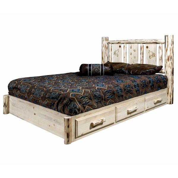 Antigo Storage Platform Bed by Millwood Pines Millwood Pines