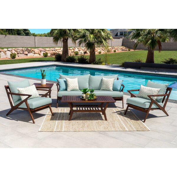 Madonna 5 Piece Sofa Seating Group with Cushions by Corrigan Studio