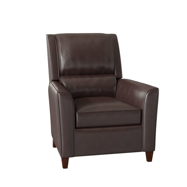Roswell 3-Way Leather Manual Recliner by Bradington-Young Bradington-Young