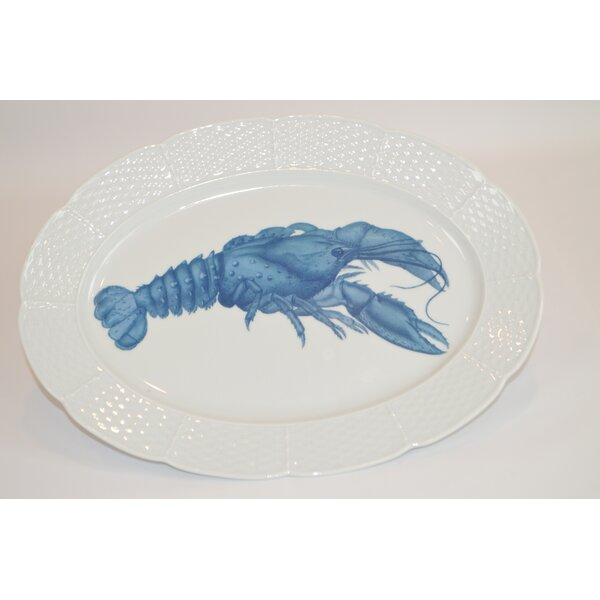 Lauryn 14 Oval Platter by The French Bee