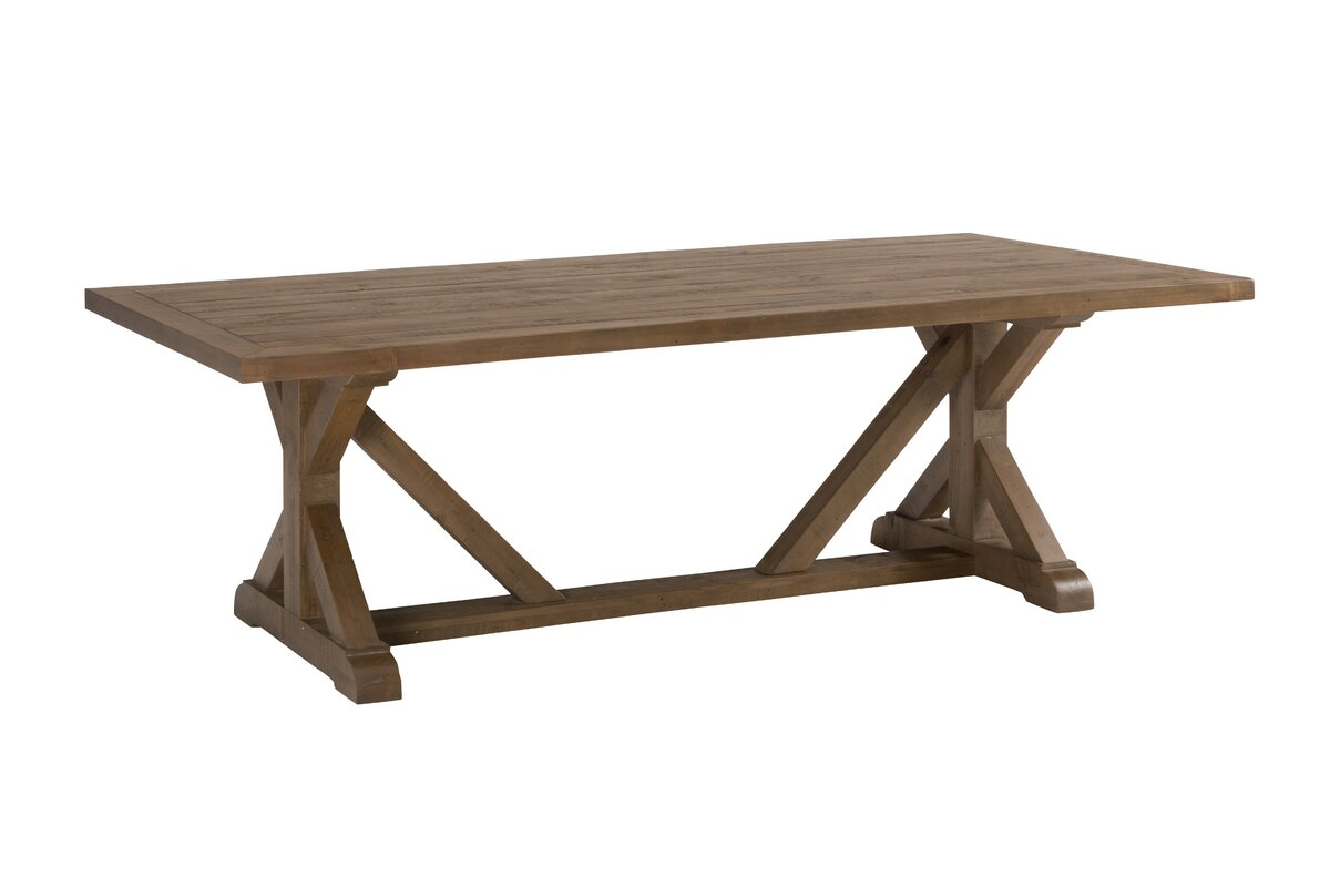 Laurel foundry modern farmhouse cannes dining table for Table 22 cannes