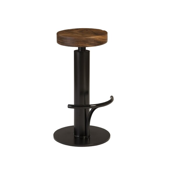 Swivel Solid Wood 30'' Bar Stool by Phillips Collection Phillips Collection