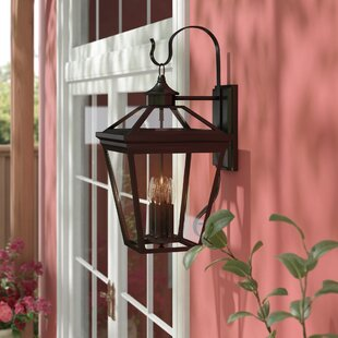 Coupon Coleg 4-Light Outdoor Wall Lantern By Darby Home Co