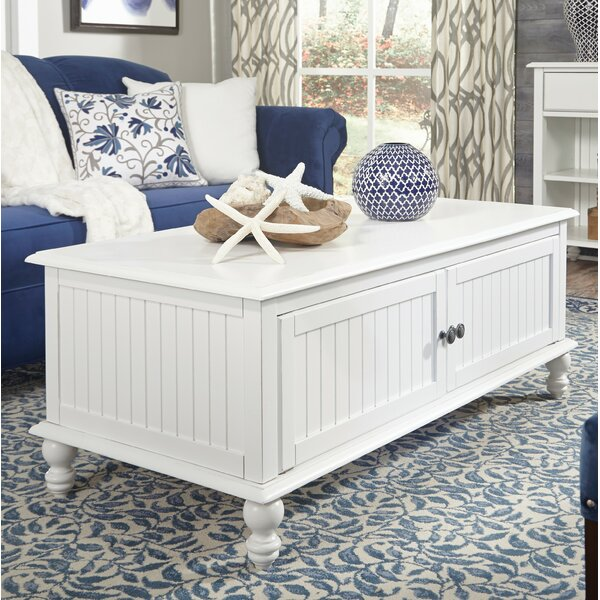 Witherspoon Coffee Table with Storage by Rosecliff Heights Rosecliff Heights