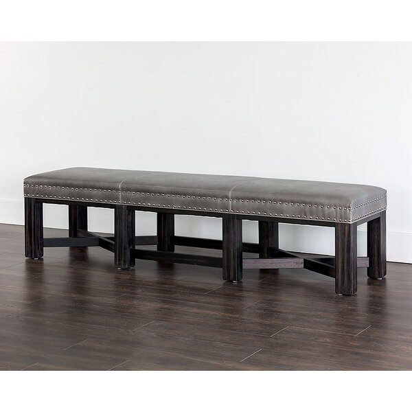 Buono Faux Leather Bench by Red Barrel Studio Red Barrel Studio