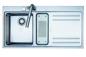 Mythos 39.37 L x 20.43 W Double Basin Drop-In Kitchen Sink by Franke