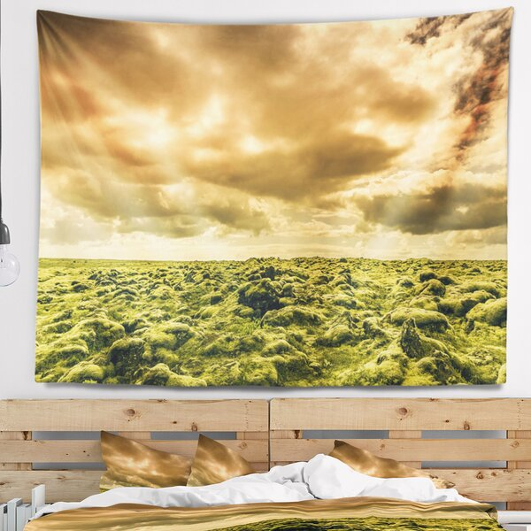 Beautiful View of Sky and Moss Tapestry and Wall Hanging by East Urban Home