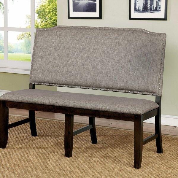 Siragan Upholstered Bench by Winston Porter Winston Porter