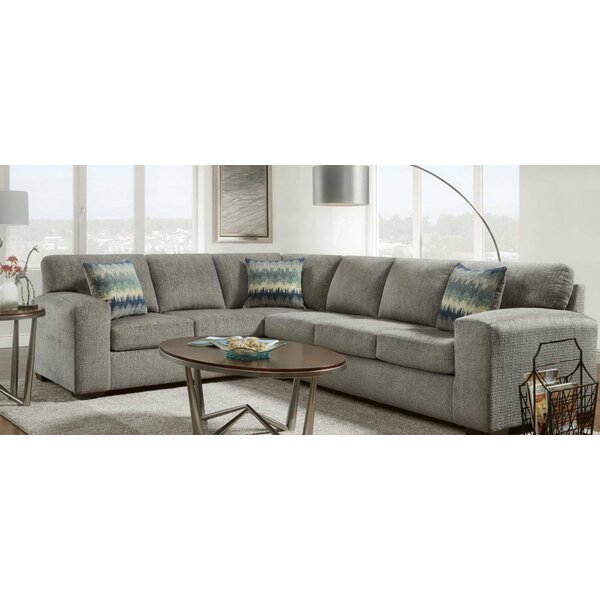 #2 Georges Left Hand Facing Sectional By Ivy Bronx Modern