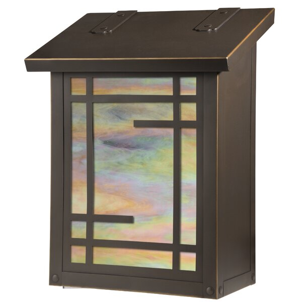 Shoji Wall Mounted Mailbox by America's Finest Lighting Company
