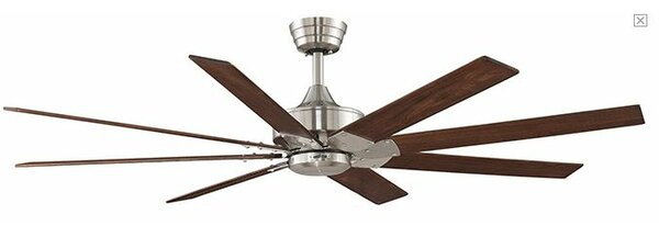 63 Levon 8 Blade Ceiling Fan by Fanimation
