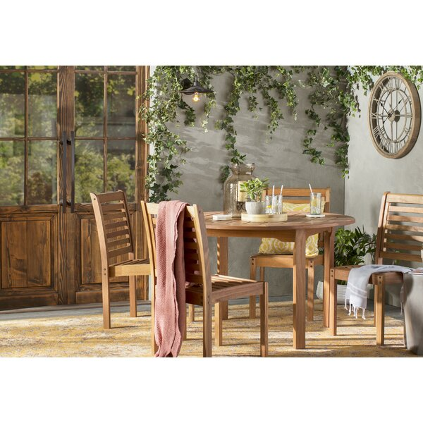 Catriona 5 Piece Dining Set by Beachcrest Home