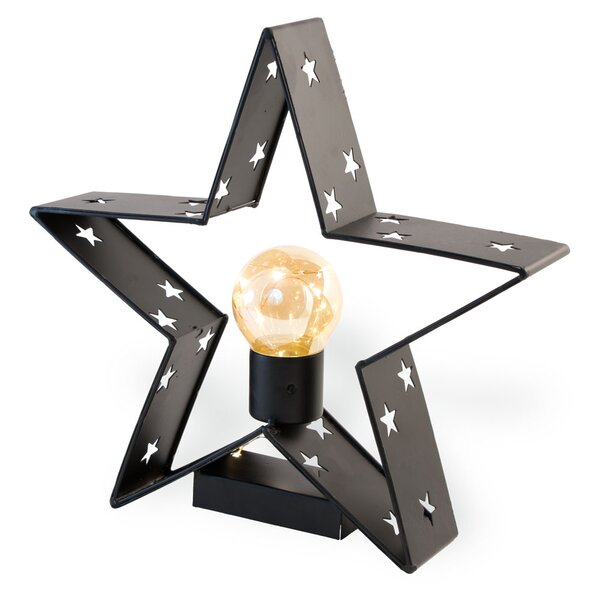 Black Star 1 Light Lamp by Gracie Oaks