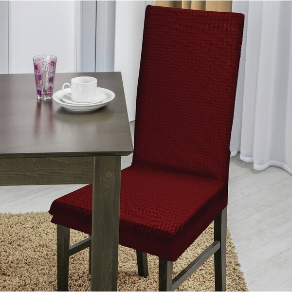 Dining Chair T-Cushion Slipcover by Red Barrel Studio