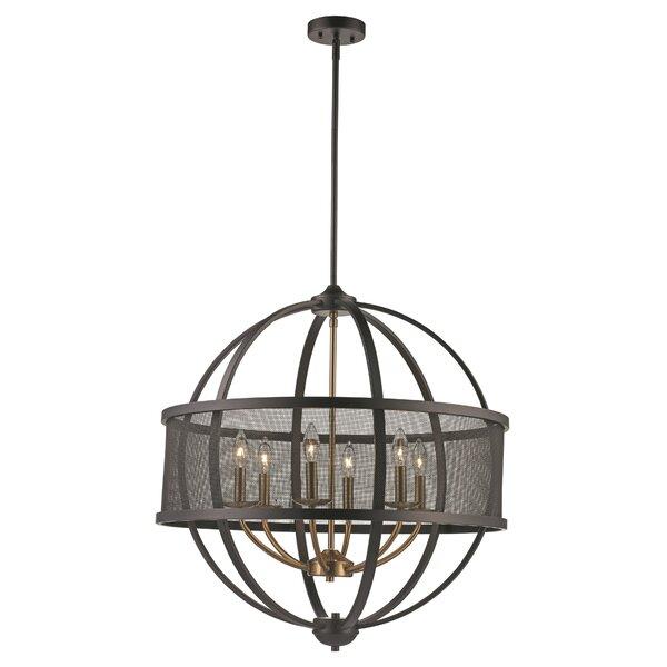 Mattias 6 - Light Unique / Statement Globe Chandelier by Wrought Studio Wrought Studio