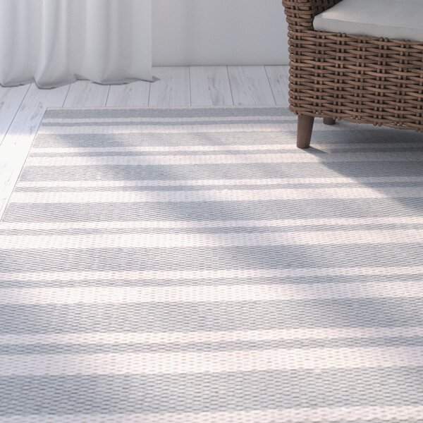 Coralie Hand-Woven Blue Rug by Highland Dunes