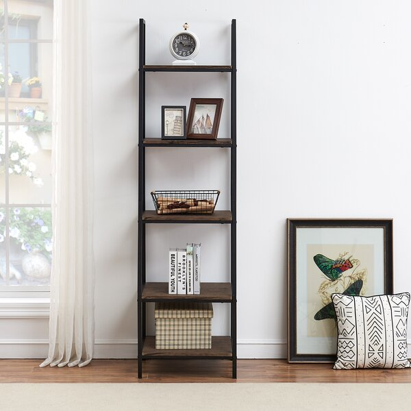 Elroy Ladder Bookcase By Union Rustic