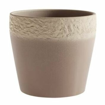 Mestre Stone Clay Pot Planter by SK USA
