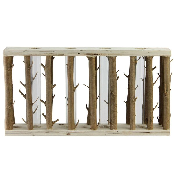 Jacobs Branches in Wood Frame Table Top Sculpture by Union Rustic