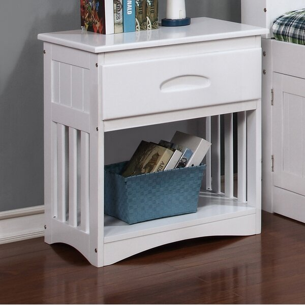 Leblanc 1 Drawer Nightstand by Longshore Tides