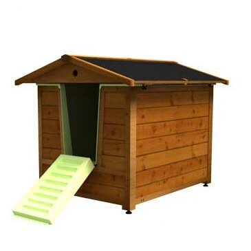 Dog House and Bath Combo by The Doggyhouse Company